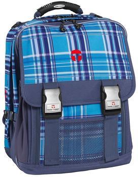 Take IT Easy Schulrucksack London Viola blau