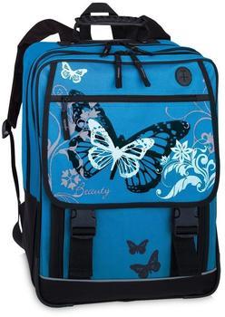 Fabrizio Mancini Kids Schulrucksack Butterfly Blue (10042)