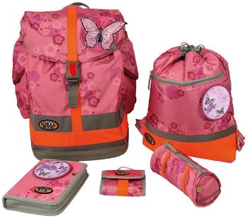 School-Mood Fly Schulranzen Schmetterling rosa