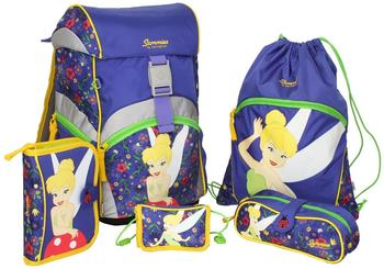 sammies-by-samsonite-ergonomic-schulranzen-set-5-tlg-disney-tinkerbell