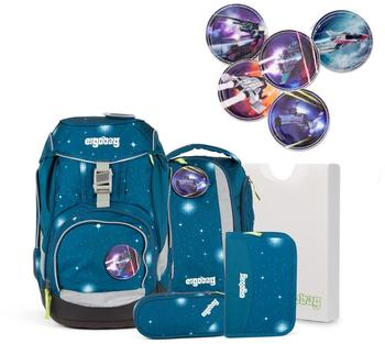 ergobag-galaxy-sternenwanderbaer-6tlg-inkl-space-kletties