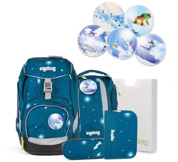 ergobag-galaxy-sternenwanderbaer-6tlg-inkl-winter-sport-kletties