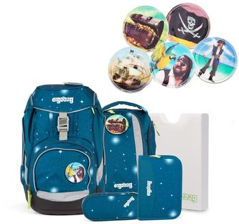 ergobag-galaxy-sternenwanderbaer-6tlg-inkl-piraten-kletties