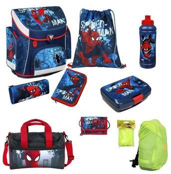 Undercover Campus Plus Spiderman 8tlg. inkl. Sporttasche