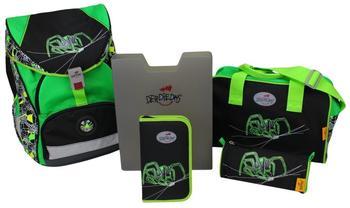 DerDieDas ErgoFlex XL Green Spider