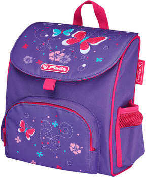 Herlitz Mini Soft Bag Purple Butterfly
