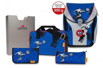 DerDieDas ErgoFlex MAX Superflash Set Silver Soccer