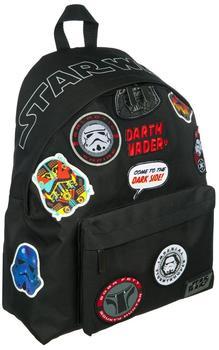 Undercover Freizeitrucksack Daypack Star Wars Patch,