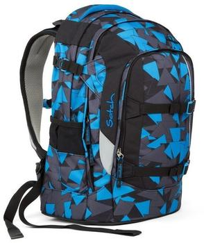 ergobag Satch Pack Blue Triangle