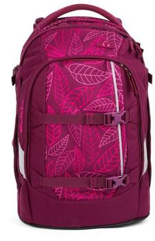 ergobag Satch Pack Purple Leaves