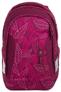 ergobag Satch Sleek Purple Leaves