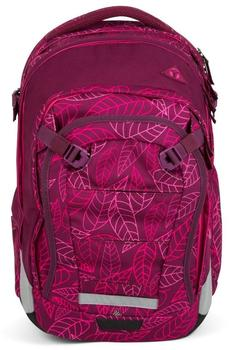 ergobag Satch Match Schulrucksack Purple Leaves