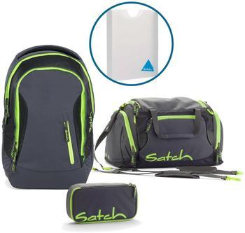 Satch Schulrucksack-Set 4-tlg Sleek Phantom