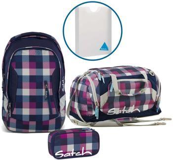 Satch Schulrucksack-Set 4-tlg Sleek Berry Carry
