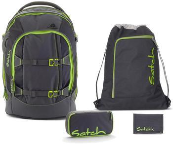 Satch Schulrucksack-Set 4-tlg Pack Phantom