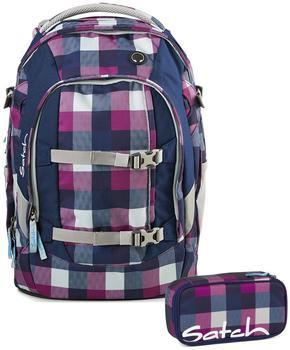Satch Schulrucksack-Set 2-tlg Pack Berry Carry
