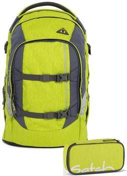 Satch Schulrucksack-Set 2-tlg Pack Ginger Lime