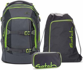 satch Schulrucksack-Set 3-tlg Pack Phantom