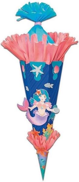 Folia 3D Meerjungfrau 70cm (92207)