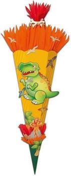 folia Schultüten-Bastelset T-Rex, 70 cm