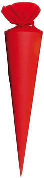 Goldbuch Basteltüte Buntkarton mit Filz 70cm rot