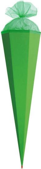 ROTH Basteltüte mit Verschluss 85cm grün