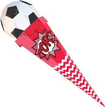Der kleine Knick 3D-Schultüte Fußballfan 85cm (DKK007)