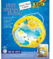 "folia Laternen-Bastelset Sonne, Mond Sterne"""