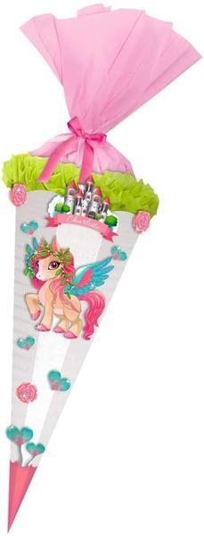 URSUS Schultüten-Bastelset Pegasus, - bereits vorgestanzt,