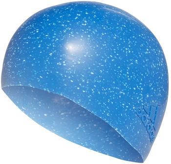 Adidas Textured Swim Cap blue