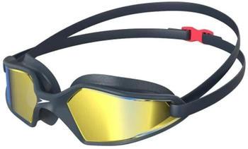 Speedo Men's Hydropulse Swimming Goggles Navy Oxid Grey Blue