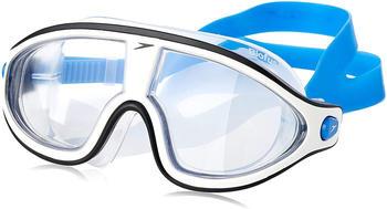 Speedo Biofse Rift Mask Goggles bondi blue white clear