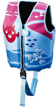 Beco Beermann Beco Sealife Schwimmlernweste blau/pink