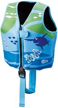 Beco Technic Beco Sealife Schwimmlernweste blau/grün