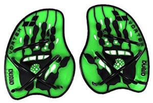 Arena Swimwear Arena Vortex Evolution Hand Paddle lime black