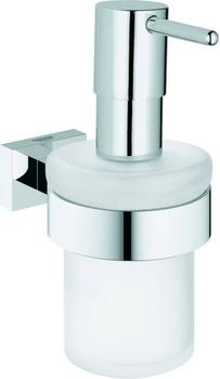 GROHE Essentials Cube Spender mit Halter chrom (40756001)