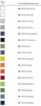 Hewi Serie 477 Seifenablage anthrazitgrau (477.02.100 92)