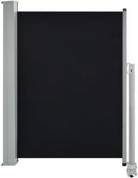 VidaXL Seitenmarkise 100x300cm schwarz