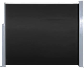 VidaXL Seitenmarkise 120x300cm schwarz