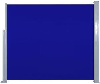 VidaXL Seitenmarkise 120x300cm blau