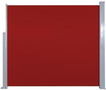 VidaXL Seitenmarkise 120x300cm rot
