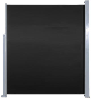 VidaXL Doppel-Seitenmarkise 500 x 160 cm schwarz