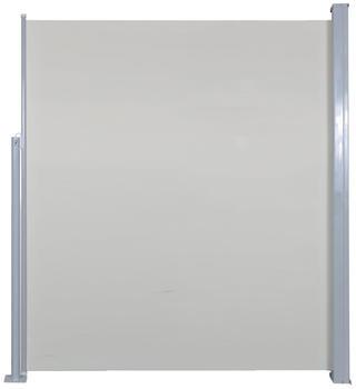 VidaXL Doppel-Seitenmarkise 500 x 160 cm creme