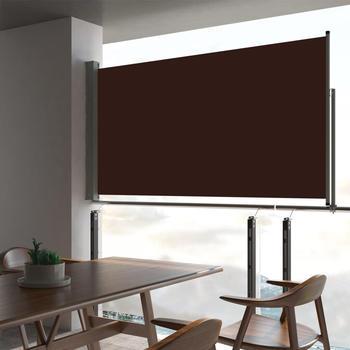 vidaXL Ausziehbare Seitenmarkise 160 x 300 cm braun 48349