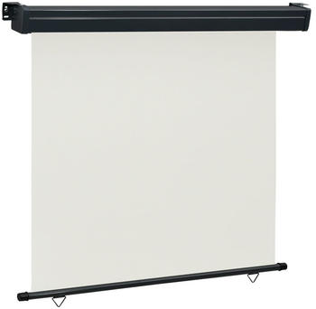 vidaXL Balkon-Seitenmarkise 170 × 250 cm creme 48437