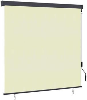 vidaXL Außenrollo 170 x 250 cm creme 145983