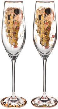 Goebel Sektglas Der Kuss Gustav Klimt 2er Set