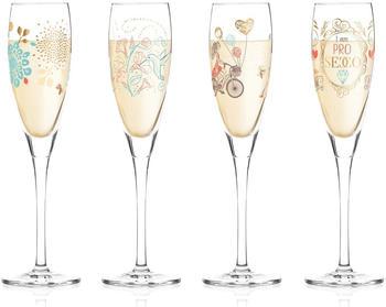Ritzenhoff Pearls Edition Proseccoglas Frühjahr 2019 4er Set
