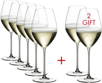 Riedel Veritas Champagner Weinglas Kauf 8 Zahl 6