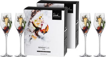 Eisch Champagnerglas Sky SensisPlus (4-tlg) transparent